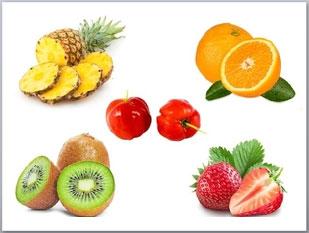 Tabela de fontes da vitamina C